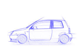 volkswagen drawing tuning vw lupo gti international vw modified lupo and polo