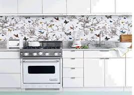 wallpaper backsplash kitchen kitchen wallpaper backsplash 4 designs enhancedhomes org