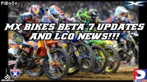 motocross news 2014 mx bikes beta 7 updates lcq news 2017 youtube