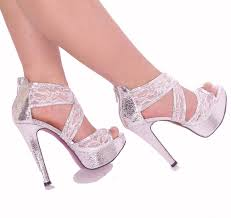 wedding shoes and bags glitter ankle checker lace cover strappy wedding shoes women high