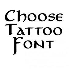 irish font generator for tattoos