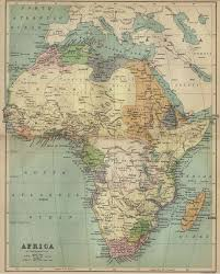 africa map atlas africa historical maps perry castañeda map collection ut