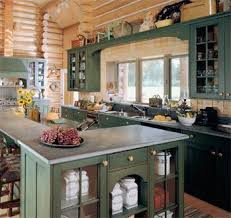 Green Cabinet Kitchen 155 Best Cabin Images On Pinterest Home Ideas And Home Decor