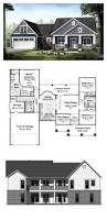 Craftsman Cottage Floor Plans Cottage Country Craftsman House Plan 55603 Exposed Rafters
