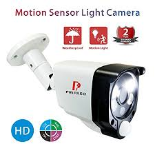 motion light security camera pripaso motion sensor security camera 1 0mp 720p wired hd tvi cvi