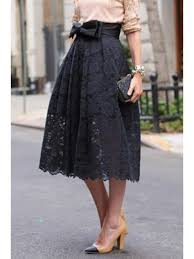 lace skirt high waisted bowknot lace skirt black skirts s zaful