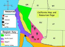 california map regions california regions process