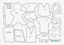 gingerbread man writing paper flame creative children s ministry guest post gingerbreadman lastly i cut out felt using each template piece there s no rules about how many of which you need but i put the numbers of what i cut out as a guide