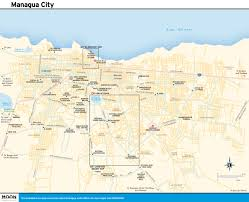 Map Centro America by Printable Travel Maps Of Nicaragua Moon Travel Guides