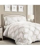 Lush Decor Belle Comforter Set Bargains 29 Off Lush Decor Belle 4 Piece Comforter Set King White