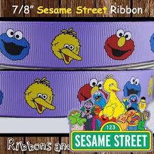 sesame ribbon 262 best sesame elmo party images on sesame