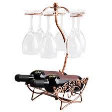 unique wine racks unique wine rack stable chagne bottle glass cup holder standing