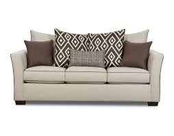 Simmons Sofa Reviews by Stationary Sofa Stewart Linen 4202 United Furniture Industries