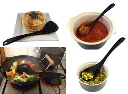 ustensil cuisine silicone utensil set checkered chef