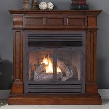 duluth forge full size dual fuel ventless fireplace 32 000 btu
