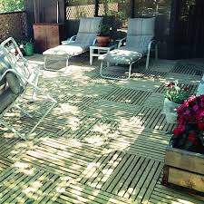 greatdeck outdoor wood deck tile pressure treated pine deck tiles
