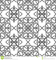 black and white moroccan pattern stock vector image 91499009