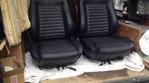 housse siege bateau réfection complète sièges cuir wv golf cabriolet gli gti à l origine