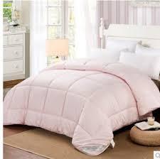 light pink and white bedding super soft light pink comforter set thick winter wool comforter