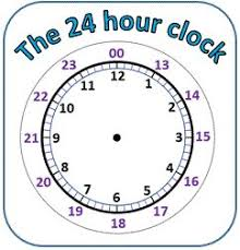 the 25 best 24 hour clock ideas on pinterest time in spanish
