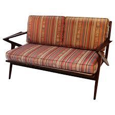 Midcentury Modern Sofa Viyet Designer Furniture Seating Poul Jensen Danish Mid