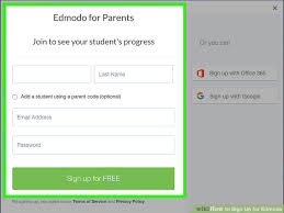 edmodo sign in 3 ways to sign up for edmodo wikihow