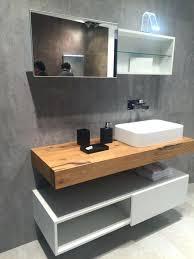 Vanities  Floating Wooden Bathroom Vanity Modern Wood Floating - Bathroom wood vanities solid wood