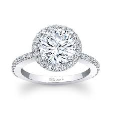 white gold halo engagement rings barkev s halo engagement ring 7839l
