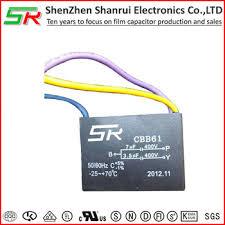 factory direct heat resisting cbb61 wiring diagram capacitor 3 5uf