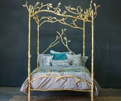 Gold Canopy Bed Forest Canopy Bed