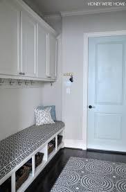 painted mudroom door sherwin williams comfort gray honey we u0027re