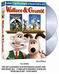 rabbit dvds wallace gromit 2 dvd cracking collector s set three