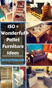 Wood Pallet Furniture Living Room 150 Wonderful Pallet Furniture Ideas