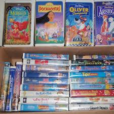 find more 25 kid u0027s vhs movies inc disney classics price reduced