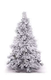 flocked trees at christmaslabs flocked trees