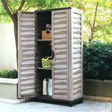 outdoor wood storage cabinet patio storage cabinet slivaj
