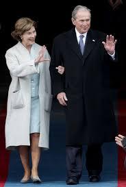 george w bush pulls faces at trump inauguration people com