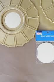 Ceiling Medallions Lowes by Easy Diy Sunburst Mirror More Lowe U0027s News