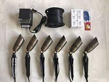 low voltage outdoor lighting kits landscape lighting kit ebay
