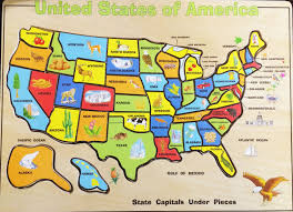 Map Of Mexico And Usa by Fun Solving The United States Map Wood Puzzle Melissa U0026 Doug Usa