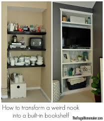 Builtin Bookshelves by How To Build A Built In Bookshelf Before U0026 After