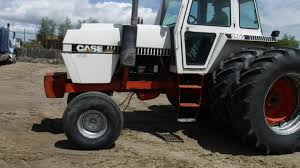 j i case 2590 2 wd tractor youtube