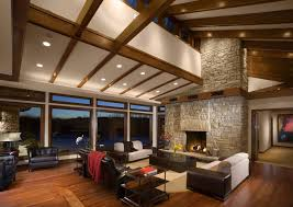 No Ceiling Light In Living Room by Vaulted Ceiling Lighting Ideas To Beautify You Home Design