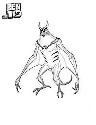 10 alien force coloring pages