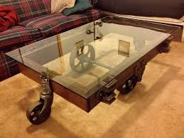 coffee table custom glass coffee tables reuse and recycle