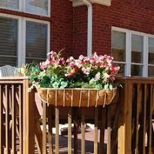 railing planter box bracket