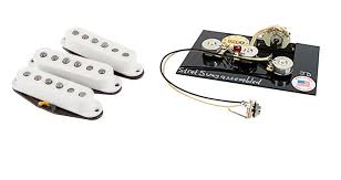 fender custom shop u002769 stratocaster pickup set plus 5 way harness