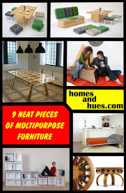 9 neat pieces of multipurpose furniture homes and hues