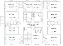 case study houses floor plans global service house washington and lee university