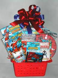 Man Gift Baskets Spiderman Gift Basket For Kids